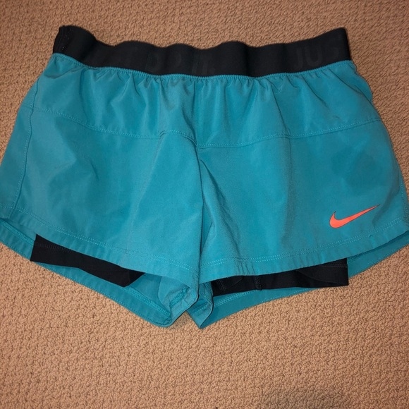 Nike Pants - Nike Teal Shorts